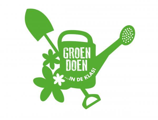 groen doen in de klas logo