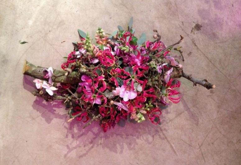 afscheidsbloemwerk Gloriosa Jeroen Kip