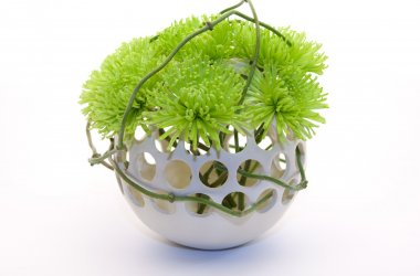 8 Spherical design flower vases