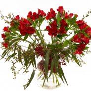 Alstroemeria Christmas bouquet