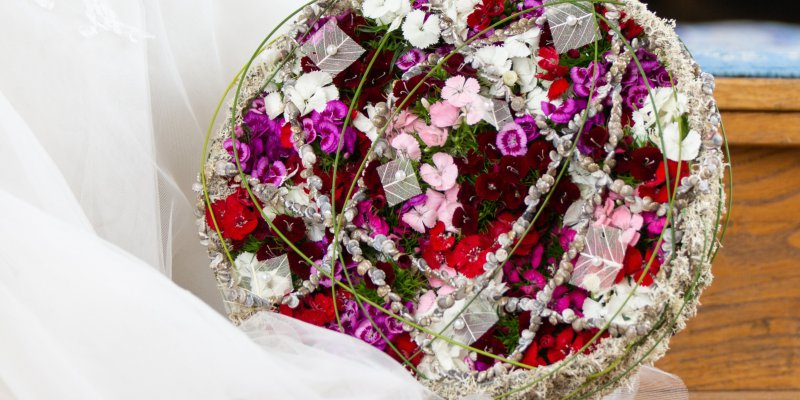 Breanthus bridal bouquet