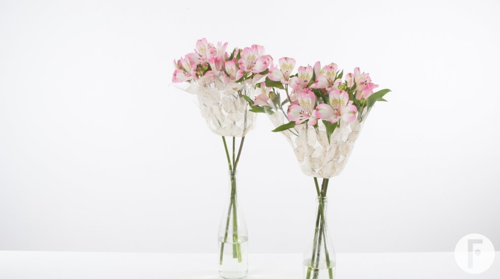 Simple Romantic Alstroemeria Bouquet Flower Factor