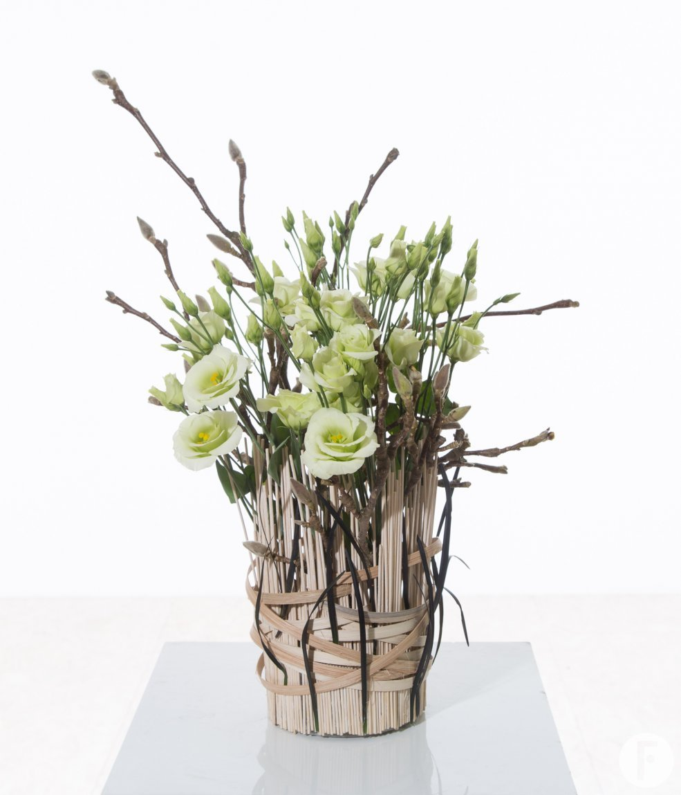 Lisianthus Arrangement Flower Factor