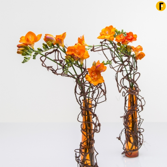 orange vase design - Vase Design Ideas